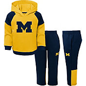 Gen2 Toddler Boys' Michigan Wolverines Maize/Blue Sideline 2-Piece Fleece Set