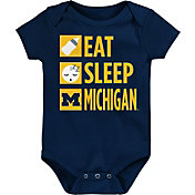 Gen2 Infant Michigan Wolverines Blue Daily Agenda Creeper