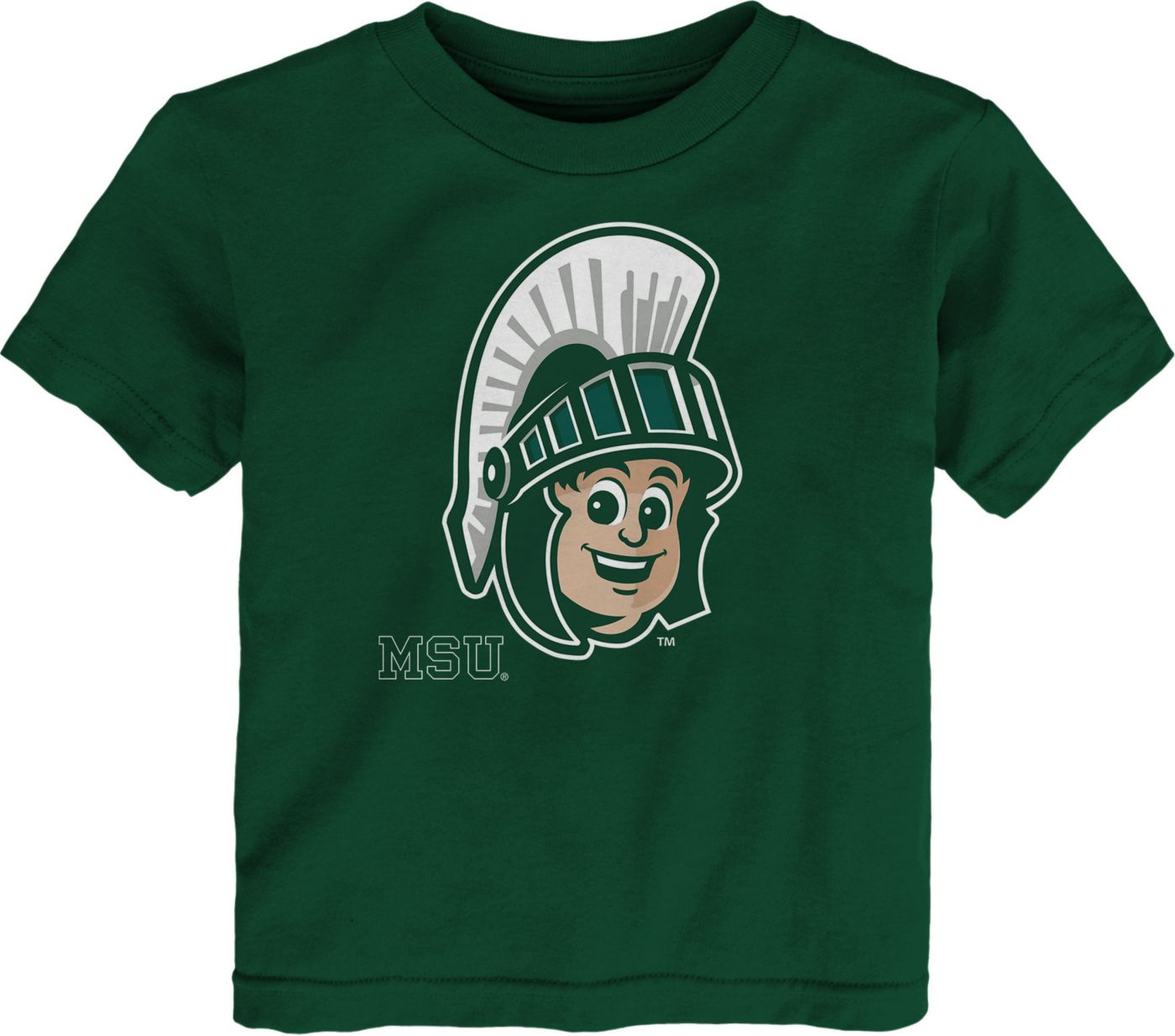 Gen2 Toddler Michigan State Spartans Green Headshot T-Shirt