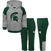 Gen2 Toddler Boys' Michigan State Spartans Grey/Green Sideline 2-Piece Fleece Set