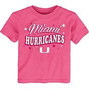 Gen2 Toddler Girls' Miami Hurricanes Pink My Team T-Shirt