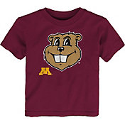 Gen2 Toddler Minnesota Golden Gophers Maroon Headshot T-Shirt