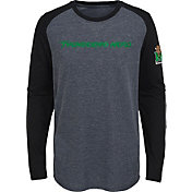 Gen2 Youth Marshall Thundering Herd Grey First String Long Sleeve T-Shirt