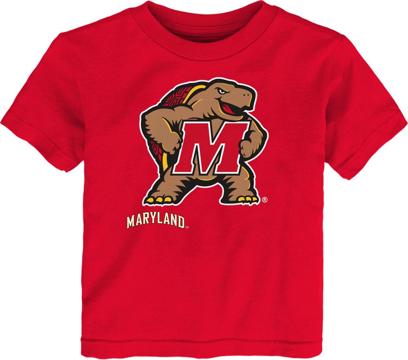 Gen2 Toddler Maryland Terrapins Red Headshot T-Shirt