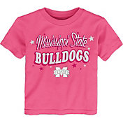 Gen2 Toddler Girls' Mississippi State Bulldogs Pink My Team T-Shirt