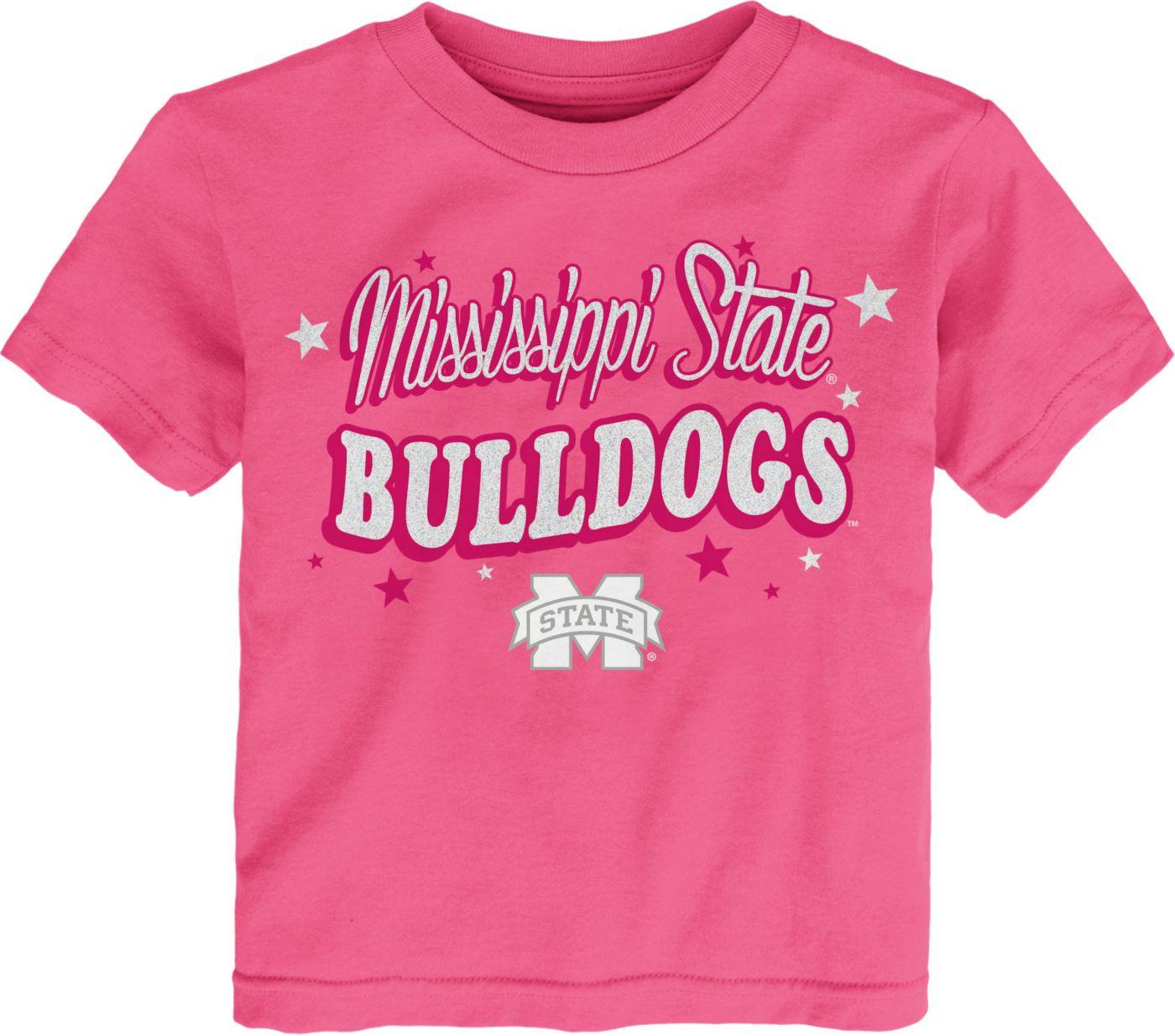 Gen2 Toddler Girls' Mississippi State Bulldogs Pink My Team T-Shirt
