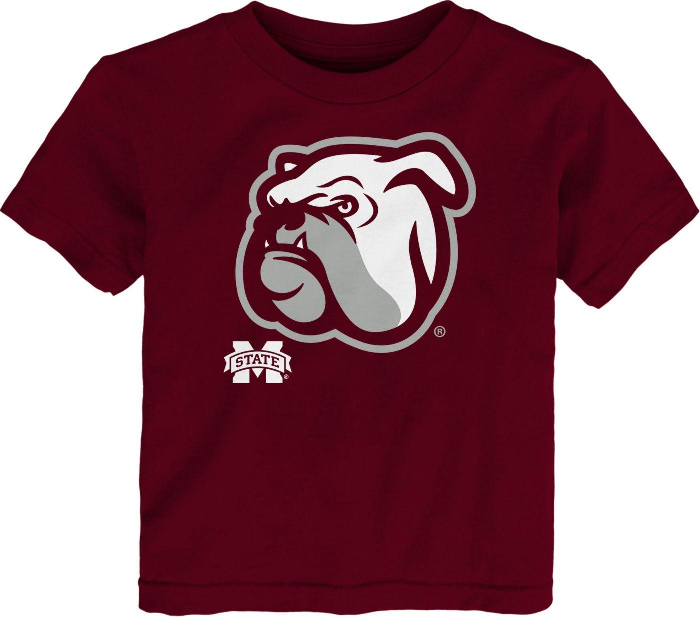 Gen2 Toddler Mississippi State Bulldogs Maroon Headshot T-Shirt