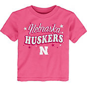 Gen2 Toddler Girls' Nebraska Cornhuskers Pink My Team T-Shirt