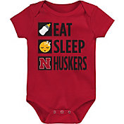 Gen2 Infant Nebraska Cornhuskers Scarlet Daily Agenda Creeper