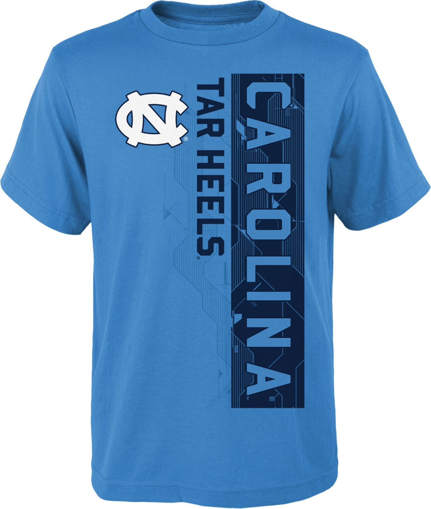 Gen2 Boys' North Carolina Tar Heels Carolina Blue Challenger T-Shirt