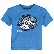 Gen2 Toddler North Carolina Tar Heels Carolina Blue Headshot T-Shirt