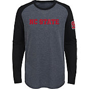 Gen2 Youth NC State Wolfpack Grey First String Long Sleeve T-Shirt