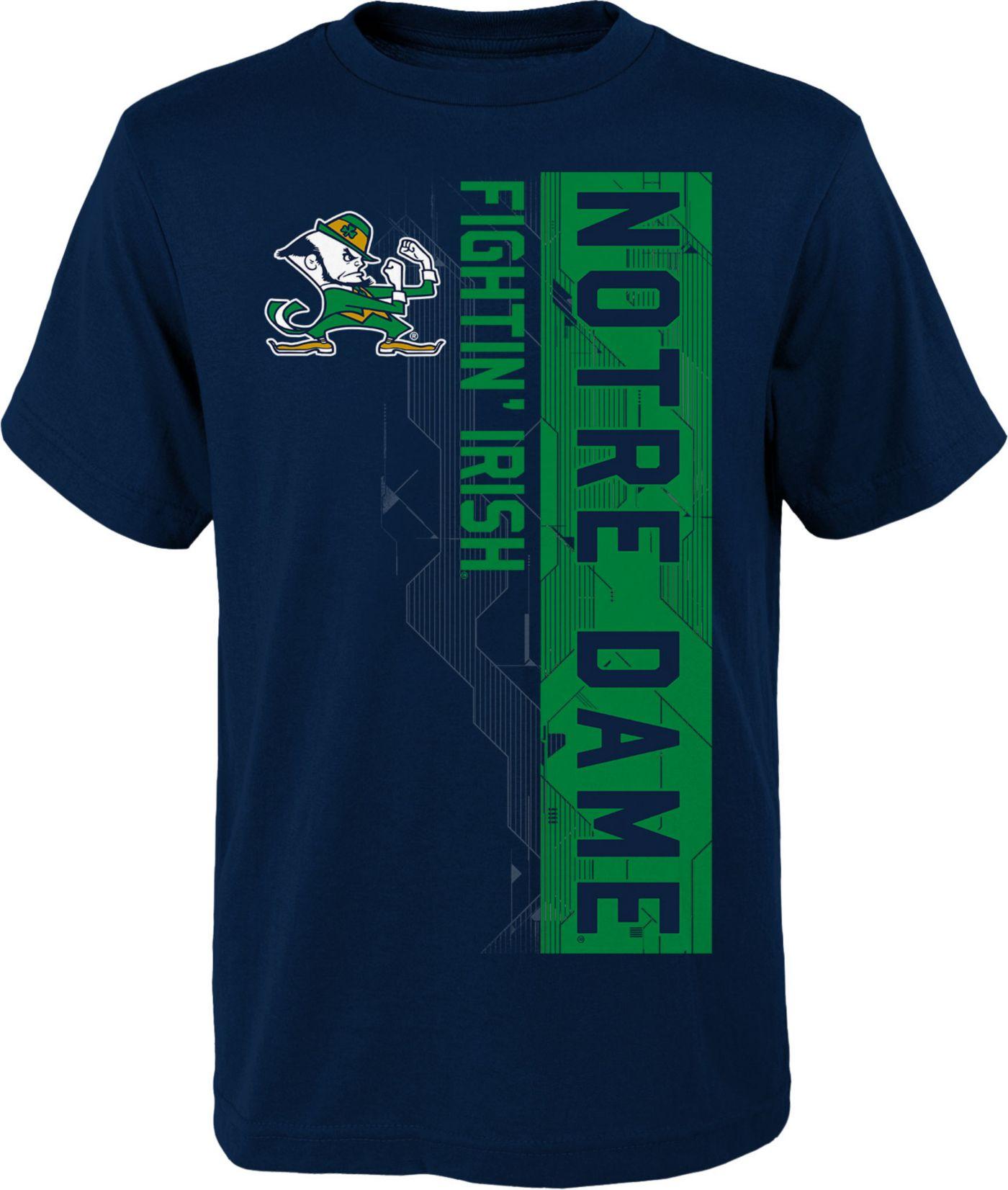 Gen2 Boys' Notre Dame Fighting Irish Navy Challenger T-Shirt
