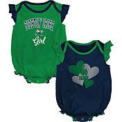 Gen2 Infant Notre Dame Fighting Irish Navy Celebration 2-Piece Onesie Set