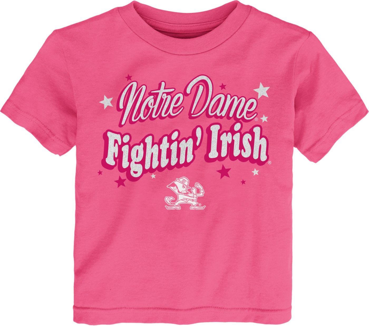 Gen2 Toddler Girls' Notre Dame Fighting Irish Pink My Team T-Shirt