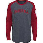 Gen2 Youth Indiana Hoosiers Grey First String Long Sleeve T-Shirt