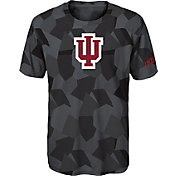 Gen2 Boys' Indiana Hoosiers Grey Sublimated Print Stadium T-Shirt