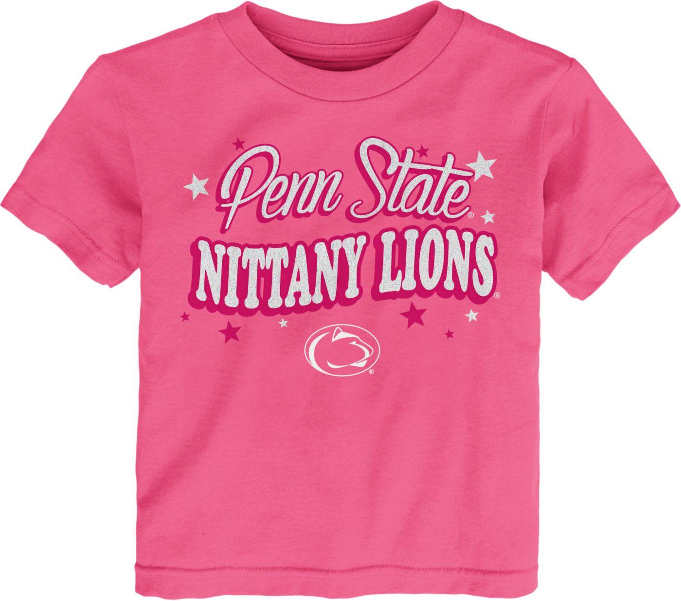 Gen2 Toddler Girls' Penn State Nittany Lions Pink My Team T-Shirt
