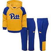 Gen2 Toddler Boys' Pitt Panthers Gold/Blue Sideline 2-Piece Fleece Set