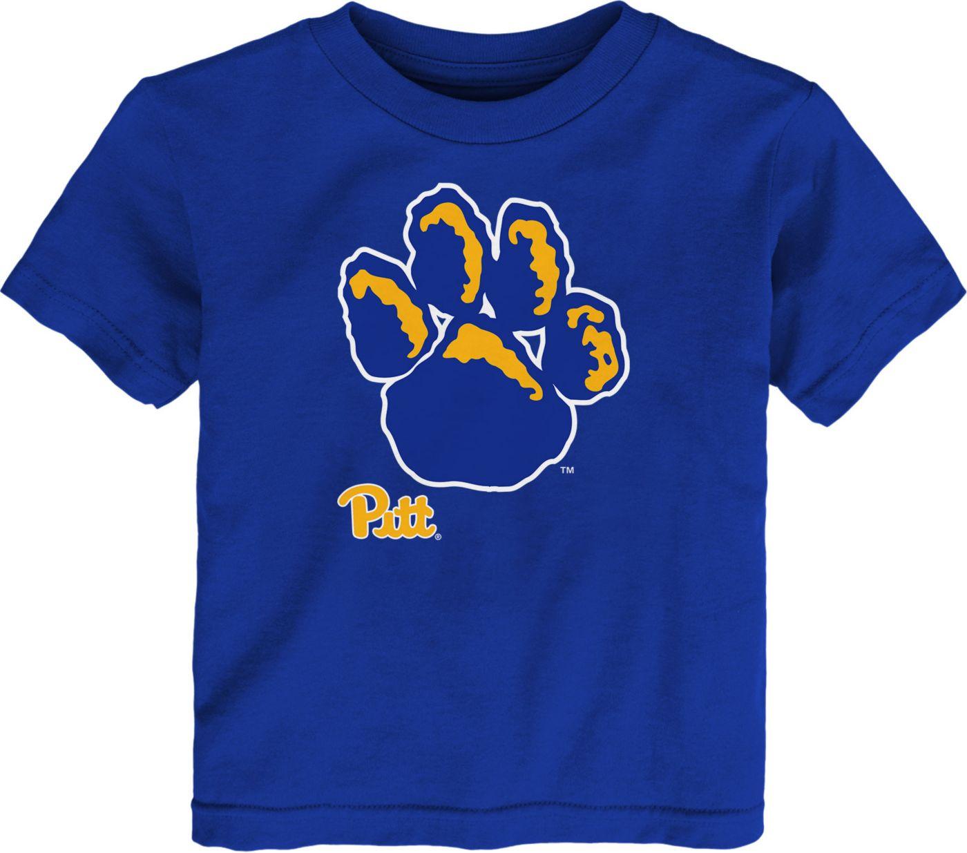 Gen2 Toddler Pitt Panthers Blue Headshot T-Shirt