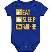Gen2 Infant Pitt Panthers Blue Daily Agenda Creeper