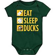 Gen2 Infant Oregon Ducks Green Daily Agenda Creeper