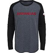 Gen2 Youth Arkansas Razorbacks Grey First String Long Sleeve T-Shirt