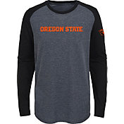 Gen2 Youth Oregon State Beavers Grey First String Long Sleeve T-Shirt