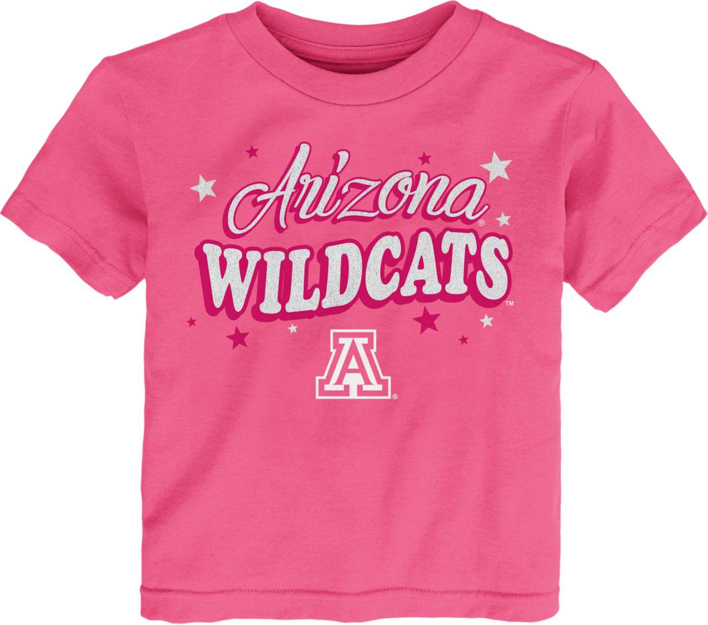 Gen2 Toddler Girls' Arizona Wildcats Pink My Team T-Shirt