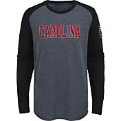 Gen2 Youth South Carolina Gamecocks Grey First String Long Sleeve T-Shirt