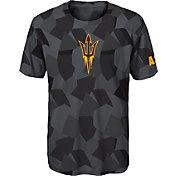 Gen2 Boys' Arizona State Sun Devils Grey Sublimated Print Stadium T-Shirt