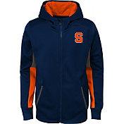 Gen2 Youth Syracuse Orange Blue Full-Zip Performance Hoodie