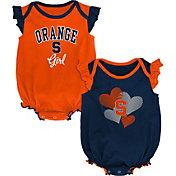 Gen2 Infant Syracuse Orange Orange Celebration 2-Piece Onesie Set