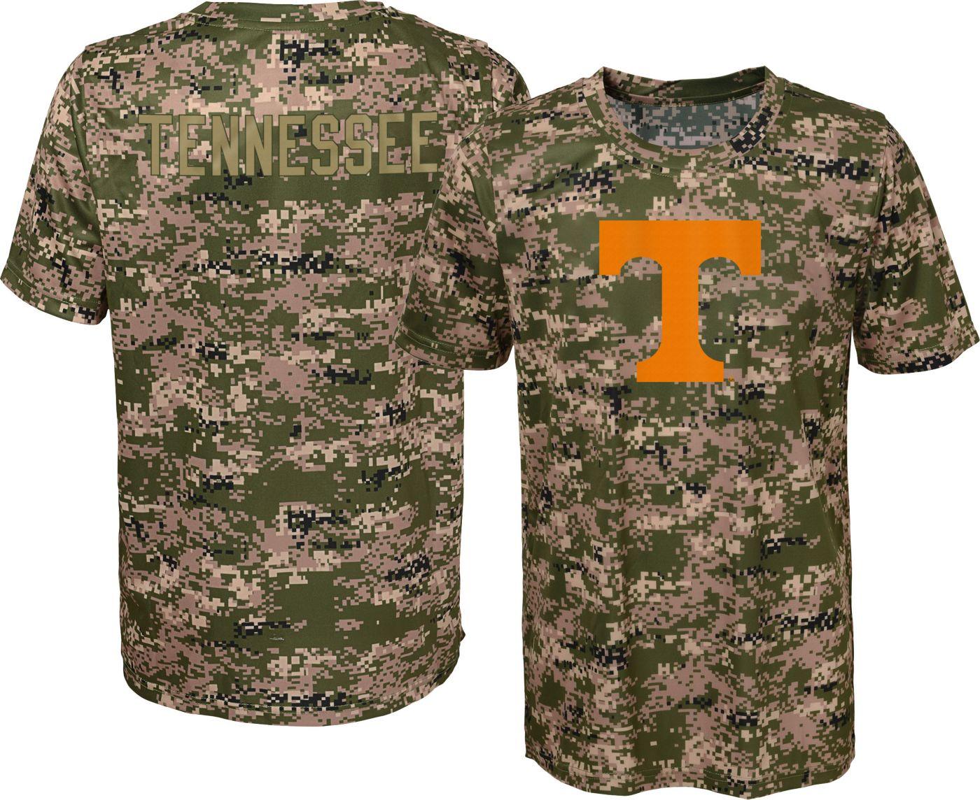 Gen2 Boys' Tennessee Volunteers Camo Alpha Performance T-Shirt