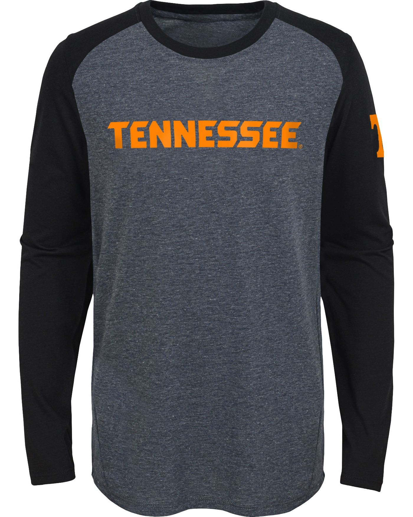 Gen2 Youth Tennessee Volunteers Grey First String Long Sleeve T-Shirt