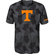 Gen2 Boys' Tennessee Volunteers Grey Sublimated Print Stadium T-Shirt