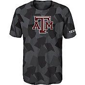 Gen2 Boys' Texas A&M Aggies Grey Sublimated Print Stadium T-Shirt