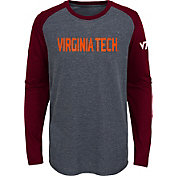 Gen2 Youth Virginia Tech Hokies Grey First String Long Sleeve T-Shirt