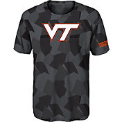 Gen2 Boys' Virginia Tech Hokies Grey Sublimated Print Stadium T-Shirt
