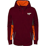 Gen2 Youth Virginia Tech Hokies Maroon Full-Zip Performance Hoodie