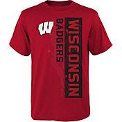 Gen2 Boys' Wisconsin Badgers Red Challenger T-Shirt