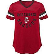 Gen2 Girls' Wisconsin Badgers Red Game Plan T-Shirt