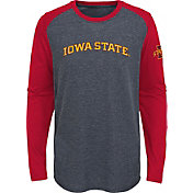Gen2 Youth Iowa State Cyclones Grey First String Long Sleeve T-Shirt
