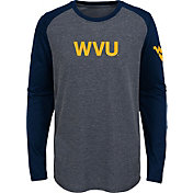 Gen2 Youth West Virginia Mountaineers Grey First String Long Sleeve T-Shirt