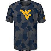 Gen2 Boys' West Virginia Mountaineers Grey Sublimated Print Stadium T-Shirt