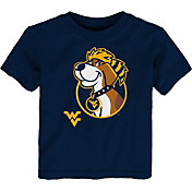Gen2 Toddler West Virginia Mountaineers Blue Headshot T-Shirt