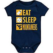 Gen2 Infant West Virginia Mountaineers Blue Daily Agenda Creeper