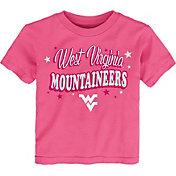 Gen2 Toddler Girls' West Virginia Mountaineers Pink My Team T-Shirt