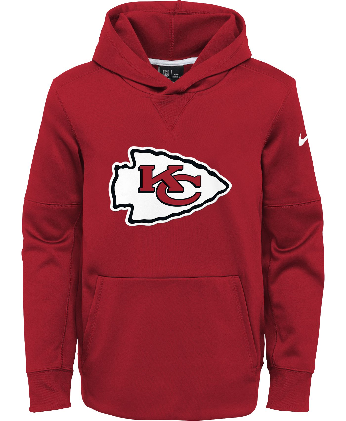 Nike Youth Kansas City Chiefs Logo Essential Red Hoodie