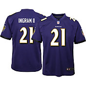 Nike Youth Baltimore Ravens Mark Ingram #21 Purple Game Jersey